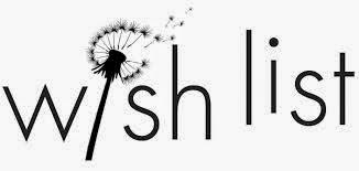 Wish List #1
