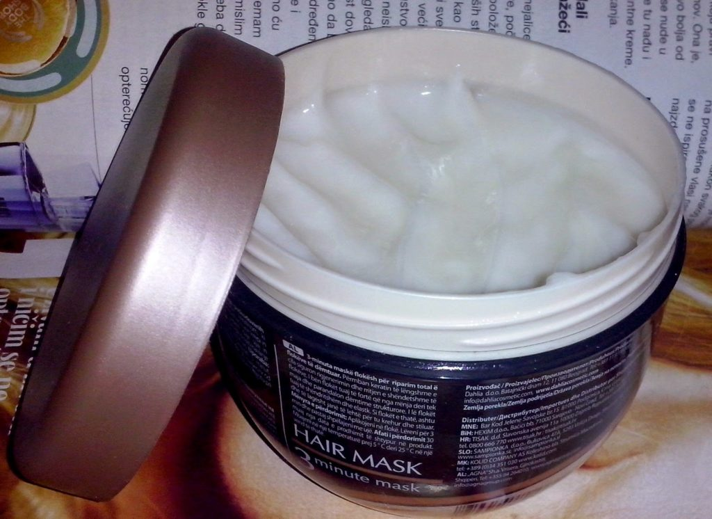 Dahlia Total Repair & Care Hair Mask 2