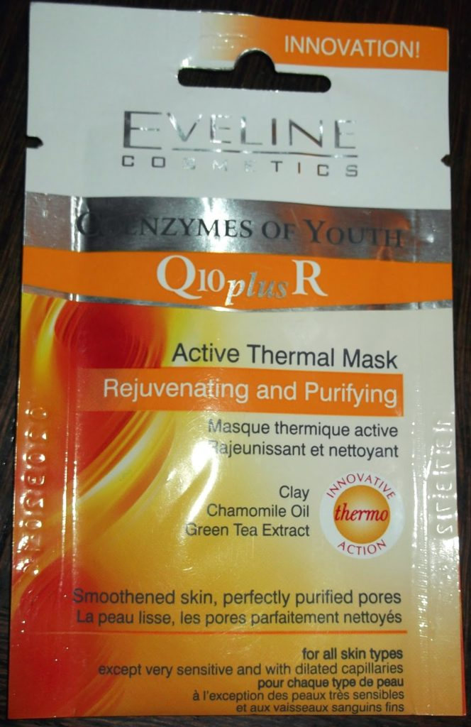 Eveline Rejuvenating and Purifying Active Thermal Mask