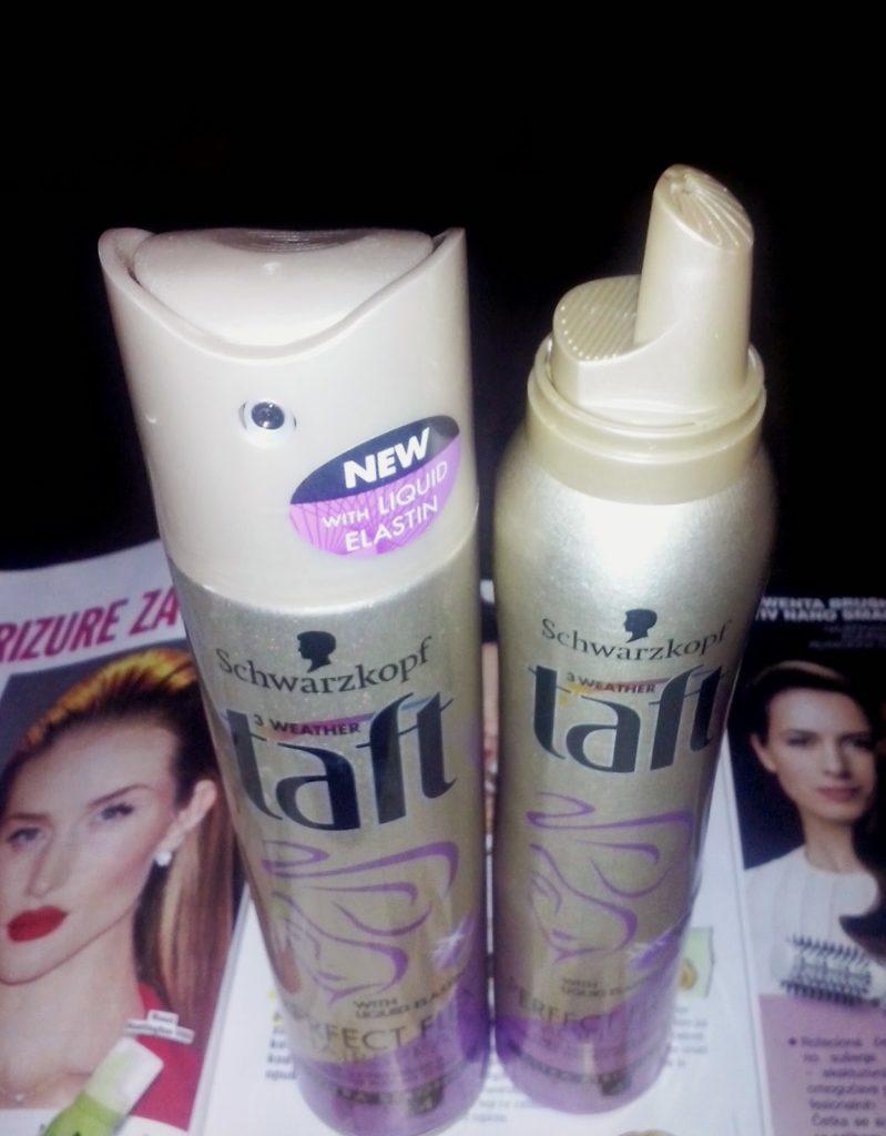 Taft Perfect Flex: Hairspray & Mousse 2