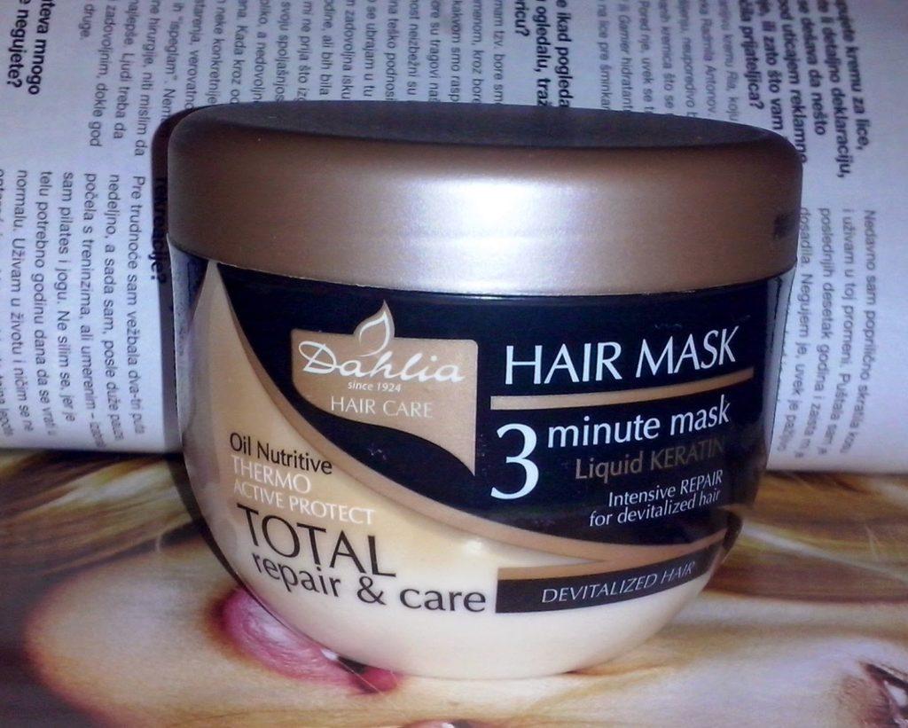 Dahlia Total Repair & Care Hair Mask 1
